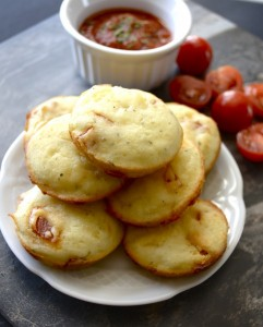 Pizza Puffs, totally gluten free! www.maebells.com