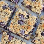 Low Carb Blueberry Bars