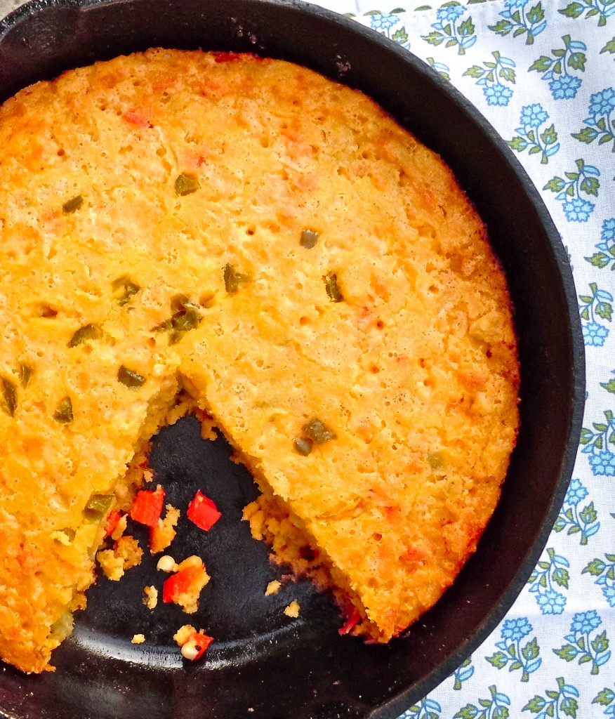 Spicy Buttermilk Cornbread