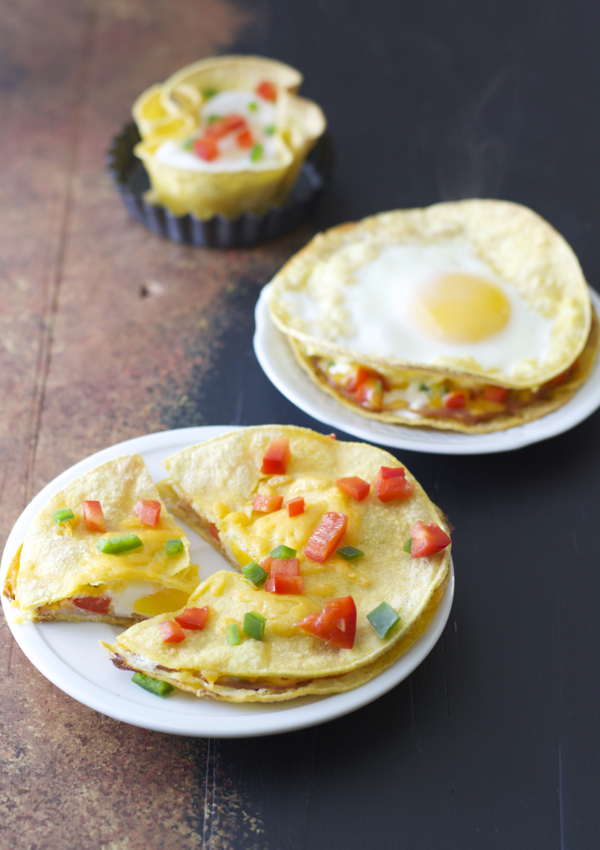 These easy Ham and Egg Stacks can be prepared three ways! You just need a few simple ingredients to create this protein packed breakfast recipe!
