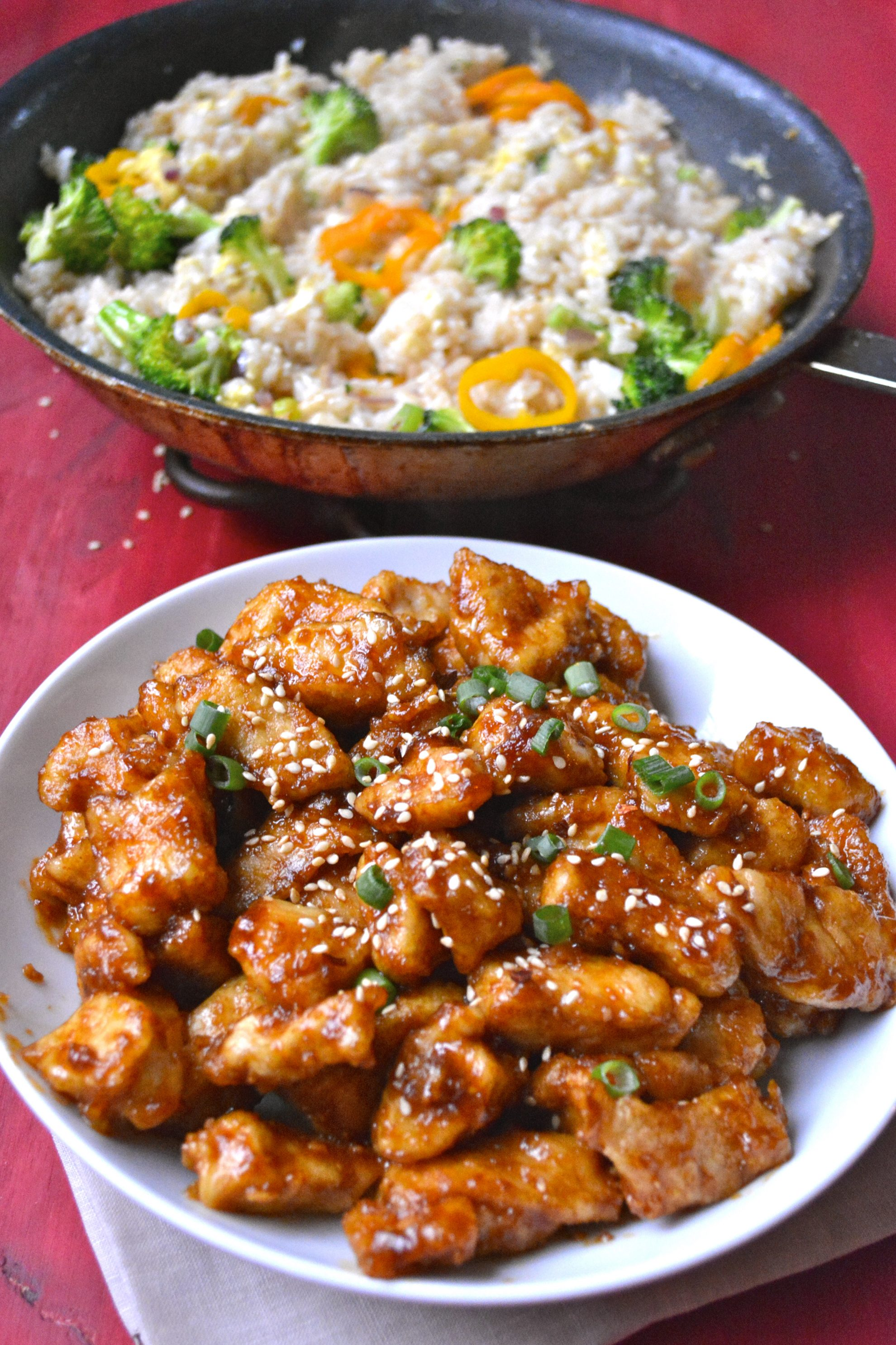 Spicy Kung Pao Chicken - Maebells