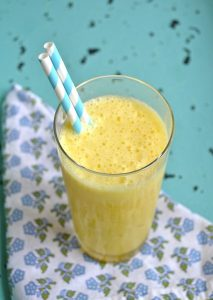 Simple Sunshine Shake! This healthy smoothie is packed with flavor!