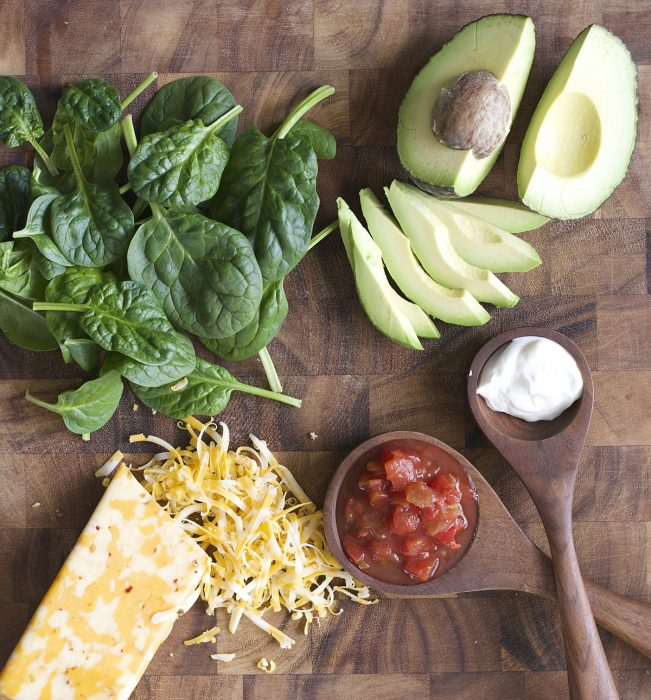 This Avocado Quesadilla is a simple six ingredient meal! A healthy, hearty dinner perfect for busy nights!