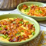Shrimp and Creamy Cheesy Grits + VIDEO