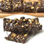 Chocolate Peanut Butter Banana Granola Bar