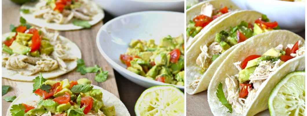 Zesty Slow Cooker Chicken Tacos