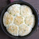 Three Cheese Basil Biscuits