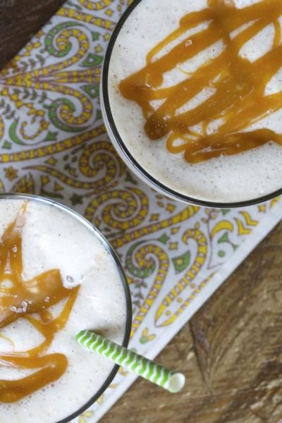 Salted Caramel Apple Cinnamon Smoothie