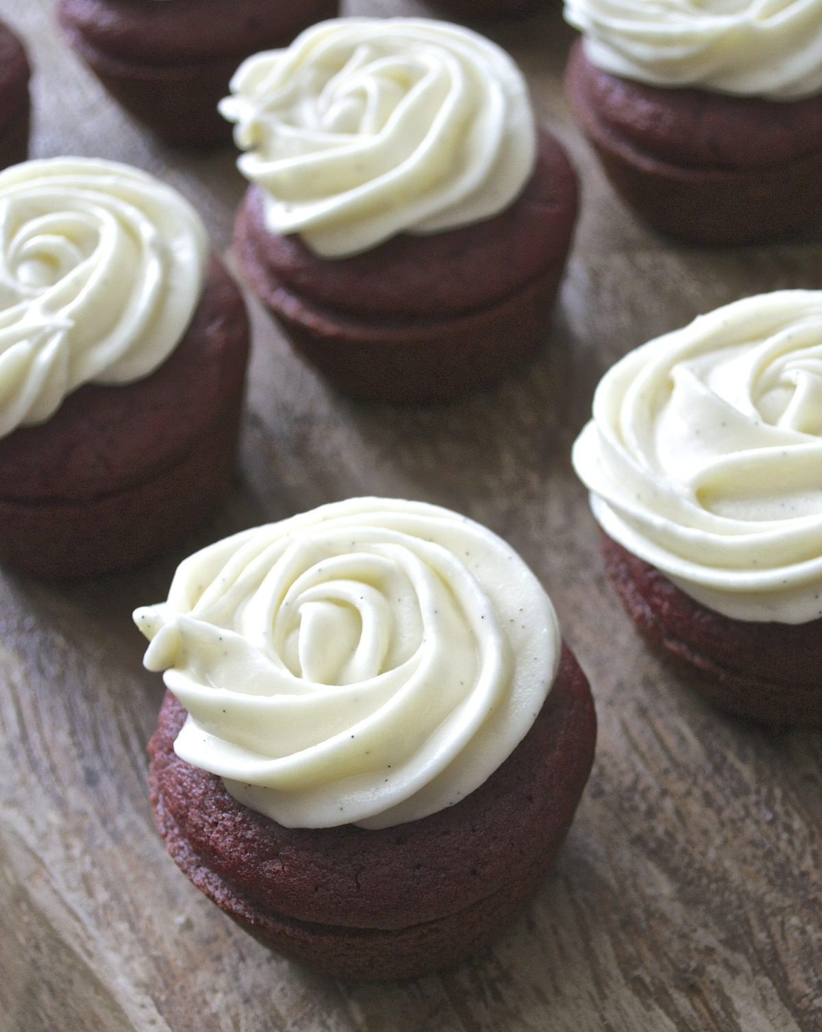 These gluten free Red Velvet Cupcakes are moist and delicious! Topped with Vanilla Cream Cheese Icing they are a dessert that is hard to beat!