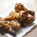 Smoked Buffalo Drumsticks, bet you can't eat just one! Ready in under 30 minutes! #glutenfree
