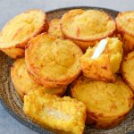 Sweet Potato and White Cheddar Corn Muffins