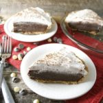 No Bake Peppermint Mocha Pie