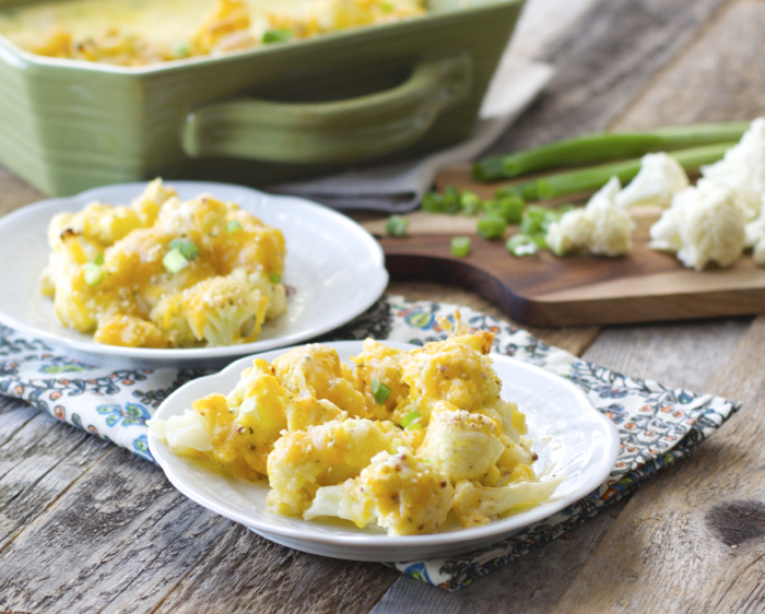 Cheesy Cauliflower Casserole - Maebells