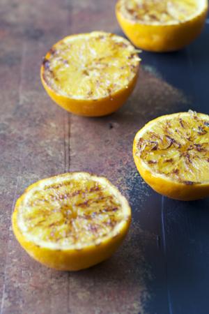 Ginger Grilled Oranges