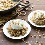 Peanut Butter Honey Apple Crisp