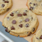 Bakery Style Keto Chocolate Chip Cookies