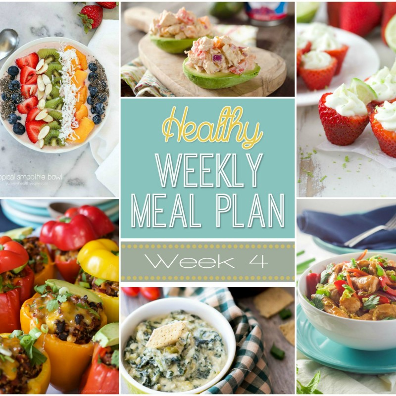 An Entire Week Of Healthy Meals Planned Just For You