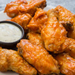 Baked Buffalo Wings (keto + low carb)