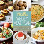 Healthy Meal Plan: Week 16