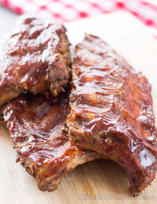 Slow Cooker Chipotle BBQ Ribs