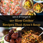 Easy Slow Cooker Recipes That Aren't Soup