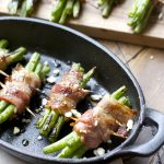 Keto Grilled Bacon Wrapped Green Beans