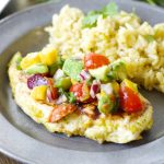 Sweet and Spicy Habanero Chicken with Mango Salsa