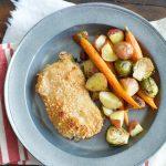 One Pan Pork Chops and Veggies