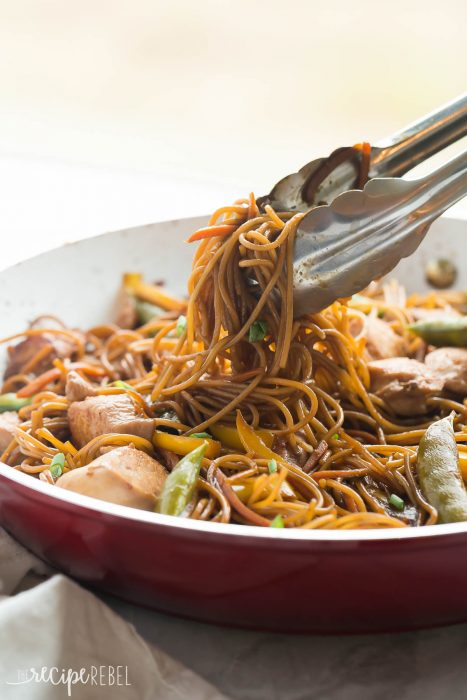One Pot Teriyaki Chicken and Noodles