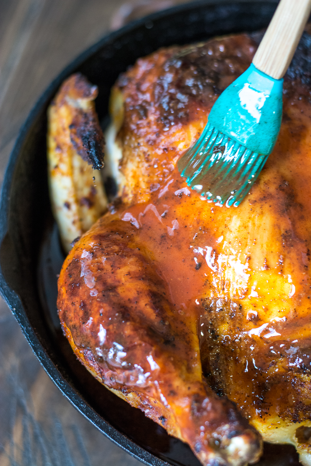 Easy Buffalo Roast Chicken