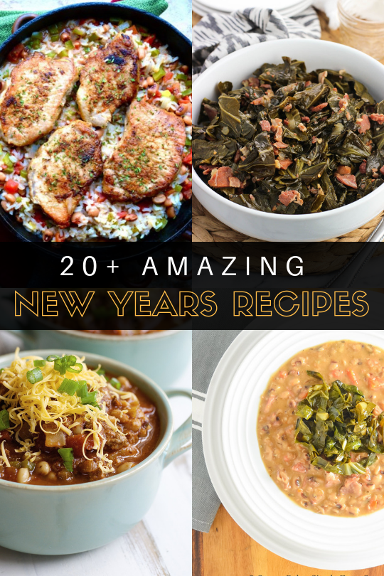 20+ amazing New Years Day recipes that are sure to get your year off to the right start!