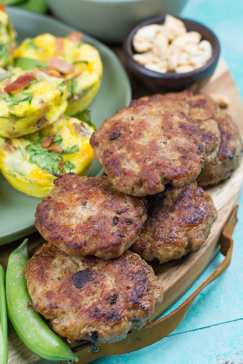 Homemade Breakfast Sausage is super easy to make and a house staple! This sugar-free recipe is Keto, Paleo, and Whole30 friendly.
