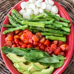 Keto Asparagus, Avocado, and Tomato Salad (low carb and easy!)