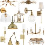 Affordable Brass Lighting