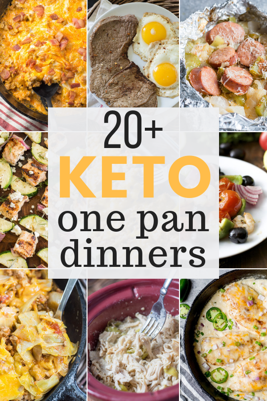 Sticking to your low-carb keto diet has never been easier! These Quick Keto Meals are perfect for busy nights when you just don't have a lot of time or energy. They come together in one pan, so there are less dishes to clean!