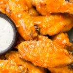 Air Fryer Buffalo Wings (low carb + keto)