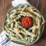 Air Fryer Green Bean Fries (keto + low carb)