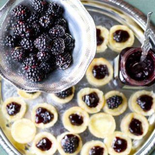 Blackberry Brie Bites