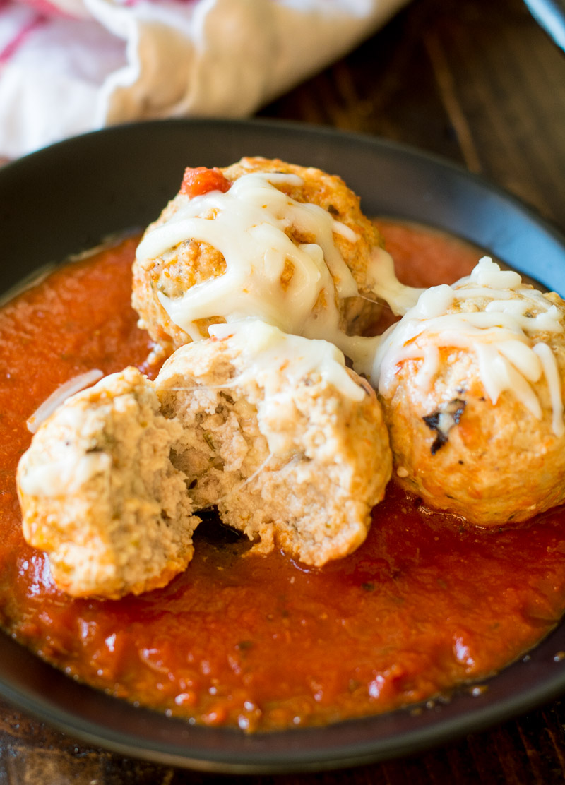 Entertaining has never been easier with these Instant Pot Havarti Stuffed Meatballs. Packed with Castello Creamy Havarti cheese, these low carb meatballs are just what your parties need!