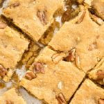 Keto Butter Pecan Blondies