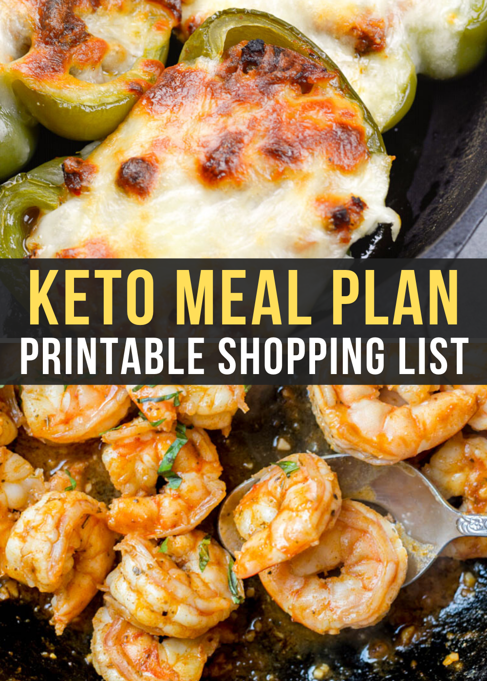 Curious about keto but not sure where to start? I can help! This Easy Keto Meal Plan includes 5 EASY low carb dinners plus a keto breakfast you can meal prep! This guide is complete with net carb counts and a printable shopping list.