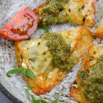 Keto Pesto Chicken Ravioli