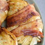 Keto Bacon Wrapped Cabbage