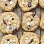 Cranberry White Chocolate Macadamia Nut Cookies (low carb + keto)