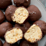 Keto Peanut Butter Cheesecake Truffles (no bake)