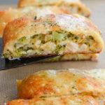 Keto Chicken Broccoli Cheddar Hot Pocket