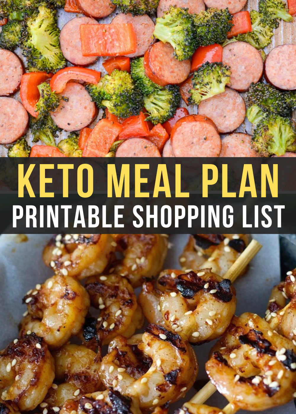 Ready to try keto but not wanting to spend hours meal planning? I'm here to help! This week's Easy Keto Meal Plan includes 5 easy low-carb dinner as well as a keto-friendly dessert. I've included net carb counts, serving amounts, and a printable shopping list!