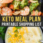 Easy Keto Meal Plan with Printable Shopping List (Week 17)