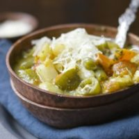 Creamy Vegetable Orzo Soup