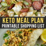 Easy Keto Meal Plan with Printable Shopping List (Week 21)